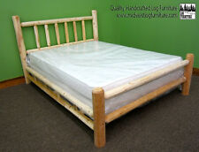Premium Log Bed - Queen $319 - Double Log Side Rail - Free Shipping