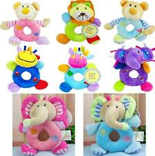 2016 NEW Kids Baby Animal Hand bell Stroller Bells Developmental Soft Toy