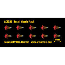 Armorcast ACFX001 Small Muzzle Flash (10) Cinematic Effects Firearm Weapon Bits