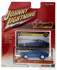 1971 Ford Maverick, Blue - Round 2 JLCG001/48A-2 - 1/64 Scale Diecast Car
