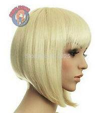 USJF33  charming vogue short  blonde hair wig cosplay wigs for women