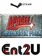 L'apogeo THROWBACK Pack Steam Key-per PC o Mac (stesso giorno di spedizione)
