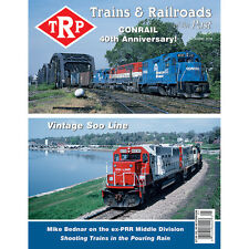 TRP: TRAINS & RAILROADS of the PAST, 1st Qtr 2016, Trains, RRs, Rosters - (NEW)