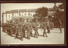 Guerre 1914-1918. Suisse . Fanfare . photo originale d'époque