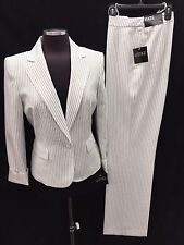 """KASPER PANT SUIT/NEW WITH TAG/SIZE 16/LINED/RETAIL$240/INSEAM32""""/MACYS SUIT"""