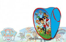 Paw Patrol Foldable Pop up Laundry Wash Hamper Toys Bag Basket Mesh Storage Bin