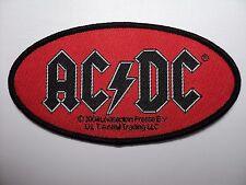 AC/DC     LOGO  WOVEN  PATCH