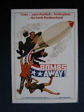 Filmplakatkarte videoplus  Bombs Away !