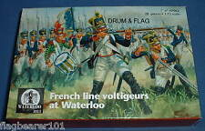Waterloo 1815 AP062 french line infantry voltigeurs. échelle 1/72. 28 figures