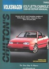 Volkswagen Golf, Jetta, and Cabriolet, 1990-98 (Haynes Repair Manuals)-ExLibrary