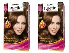 2 x Napro Palette 5-5 Light Gold Brown Permanent, Intensive Caring Colour NEW