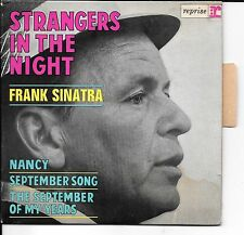 EP 4 TITRES--FRANK SINATRA--STRANGERS IN THE NIGHT (LANGUETTE)