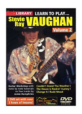 Lick Library LEARN TO PLAY STEVIE RAY VAUGHAN Vol. 2 Guitar Lessons Video 2 DVDs