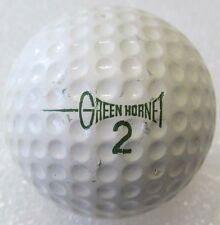 VINTAGE DIMPLE GOLF BALL WITH A GREAT NAME   THE GREEN HORNET