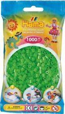 Hama - 207-42 Sachet 1000 Perles à repasser Vert fluo