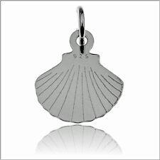 Anhänger - MUSCHELN Echt  925er.Sterling Silber  16/11 mm   TOP      BL 161
