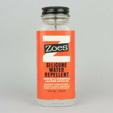 Zoes Silicone Water & Stain Repellent 118ml (4oz) Protect From Rain, Snow & Dirt