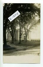 Rehoboth MA Mass RPPC real photo Congregational Church 1908