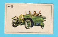 Oryx Vintage 1950s Car Collector Card from Sweden