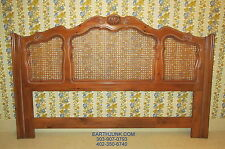 Ethan Allen Country French Chateau Normandy King Cane Headboard 17 5601
