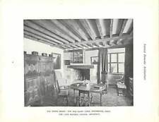 1923 The Old Dairy Farm Edenbridge Kent Dining Room And Hall