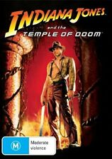 INDIANA JONES & THE TEMPLE OF DOOM Harrison Ford DVD - R4