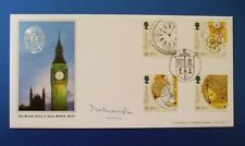 A G BRADBURY 1993 MARINE TIMEKEEPERS FDC SIGNED BY THE MARQUESS OF NORTHAMPTON