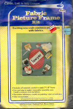 Cardé, Ltd.is Sew Unique Fabric Picture Frame Kit w/Scrapbooking Accy. Lawyer
