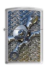 Zippo 5086 socket spanner brushed chrome Lighter
