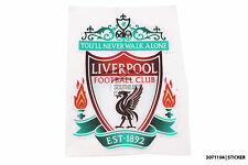 Liverpool FC football logo decal/sticker for motorbike,car,laptop,home furniture