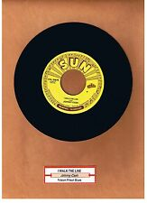 "CASH, JOHNNY - I WALK THE LINE / FOLSOM PRISON BLUES  ""JUKEBOX"" 45 [B]  UNPLAYED"