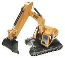 "16"" Remote Control RC Excavator Truck w Light & Sound Christmas Toy CT27L"