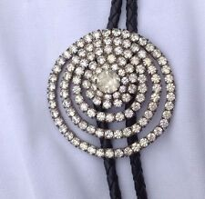 Strass Stile Western Bolo Tie Vintage Classic American Boot pizzo