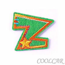 DIY Embroidered Motif Cloth Applique Iron On Patch Sew Clothing Decorations #Z