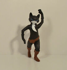 "RARE 2011 Kitty Soft Paws 4"" McDonald's Action Figure Shrek Puss In Boots Movie"