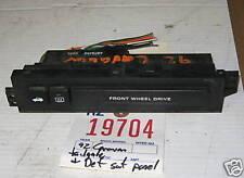 DODGE 93 CARAVAN REAR TAILGATE/HATCH RELEASE SWITCH 1993