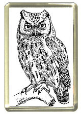 Owl Fridge Magnet - Wildlife