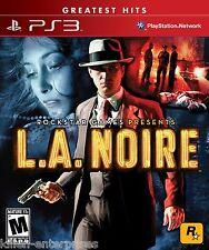 L.A. Noire (Playstation 3) PS3