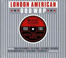 LONDON AMERICAN DOO WOP - 1959 - 1961 (NEW SEALED 2CD)