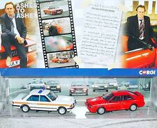 Corgi Toys 1:43 ASHES TO ASHES AUDI QUATTRO + POLICE FORD TV Model Car MIB`11!