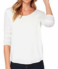 US Sexy Women's Backless Tops T-Shirt Long Sleeve Casual V-Back Open Back Blouse