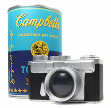 "Kidrobot ANDY WARHOL CAMPBELL'S SOUP CAN SERIES - VINYL CAMERA 3"" Mini Figure"
