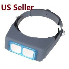 4 Lens Head Band Magnifier Glasses Head Visor Loupe Binocular