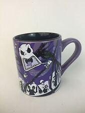 Nightmare Before Christmas Jack Skellington Coffee Mug Purple Black 14 oz Disney