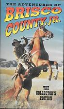 Columbia House Brisco County , JR. 2 Episodes, Hard Rock, Brooklyn Dodgers VHS