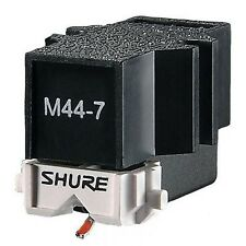 Shure M 44-7 Cartridge Head + Stylus Needle Scratch + Complete Kit Accessories