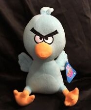 "Sugar Loaf Angry Birds Plush Blue Bird 13"" Stuffed Animal NEW"