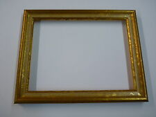 "8""x6"" photo frame  gold with ivory scoop"