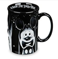 DISNEY PARKS MICKEY & FRIENDS TWILIGHT ZONE TOWER OF TERROR COFFEE MUG NIB GIFT