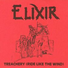 ELIXIR - Treachery (NEW*LIM.500*CULT NWOBHM REPLICA*SON OF ODIN)